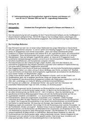 Leitantrag zum Ehrenamt - Evangelische Jugend in Hessen und ...