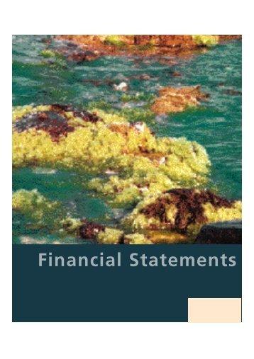 Financial Statements - Bursa Malaysia
