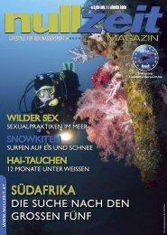 nullzeit Magazin, Ausgabe 1/08 - Nullzeit.at