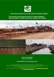 EoF (Des 2012) APRIL penghancur hutan terbesar Riau