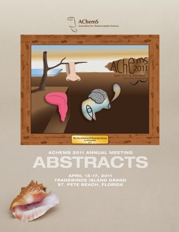 ACHEMS 2011 ANNUAL MEETING AC hemS - Association for ...