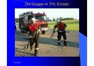 Die Gruppe im THL-Einsatz - Freiwillige Feuerwehr Pflugdorf-Stadl