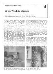 Wände in München Grüne - Urbanes Wohnen e.V.