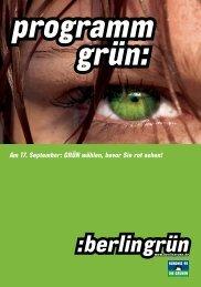 Wahlprogramm der Grünen - Abgeordnetenwatch.de
