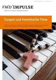 Gospel und himmlische Töne - Freundeskreis Missionarischer ...