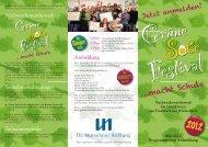 Grüne S ße Festival - Schule & Gesundheit