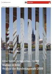 Kurzanalyse [ PDF , 3294 KB ] - Stadt Köln