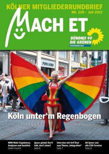 Das neue Mach Et ist da - Grüne Köln