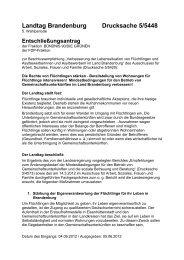 Landtag Brandenburg Drucksache 5/5448