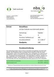 Exposé Kesselhaus - WFL - Wirtschaftsförderung Leverkusen