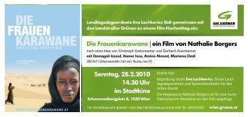 Die Frauenkarawane - Die Grünen Landstrasse