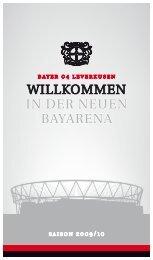 WILLKOMMEN IN dEr NEuEN bayarENa - Bayer 04 Leverkusen