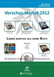 Vorschau Herbst 2012 - Dryas Verlag