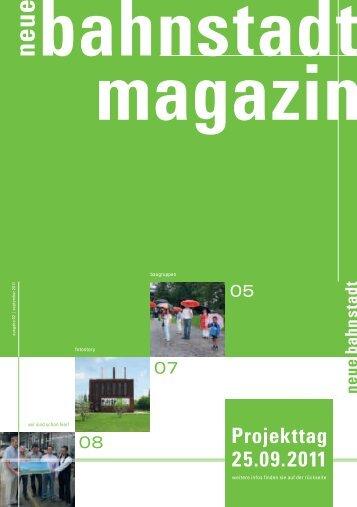 Projekttag 25.09.2011 - Neue Bahnstadt Opladen