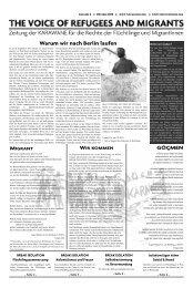 Ausgabe 04/2012 - Karawane für die Rechte der Flüchtlinge und ...