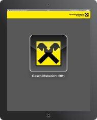 Geschäftsbericht 2011 - Raiffeisen
