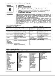 Therapiezentrum Solid Sol / Informationsmaterial / Blutgruppe : 0 ...