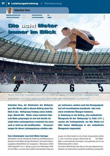 Weitsprung 2010 - Leichtathletik Region Stuttgart
