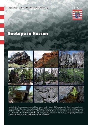 Geotope in Hessen - Hessisches Landesamt für Umwelt und Geologie