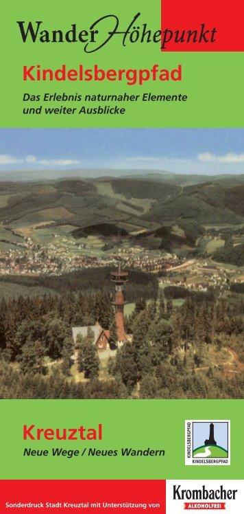Kindelsbergpfad Kreuztal - Wittgensteiner Wanderland