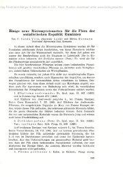 Einige neue Micromycetenarten für die Flora der sozialistischen ...