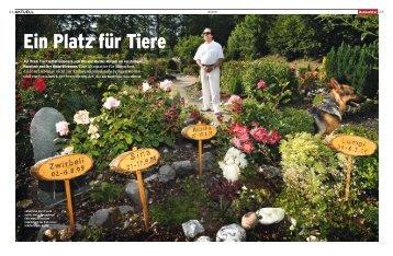 Ein Platz für Tiere (PDF) - bildhoch2.ch
