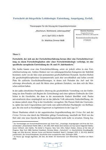 Dr. Matthias Zimmer MdB - Deutscher Bundestag