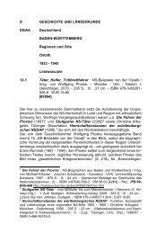 NS-Belastete von der Ostalb - Informationsmittel für Bibliotheken