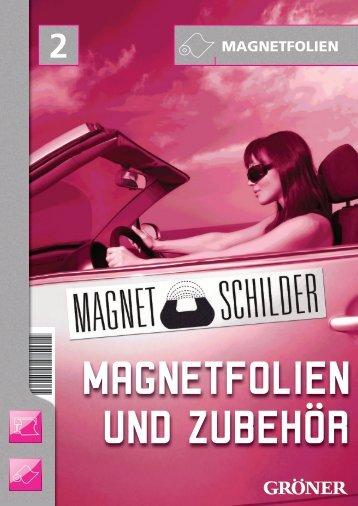 Magnetfolien Artikel - Karl Gröner GmbH