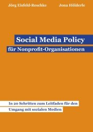 Social Media Policy für NPOs - Pluralog