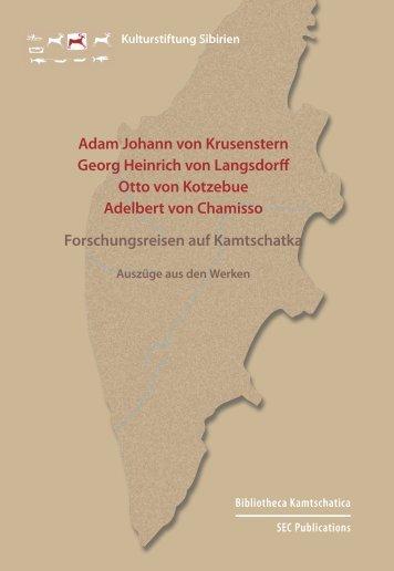 Adam Johann von Krusenstern Georg Heinrich von Langsdorff Otto ...