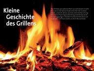 Kleine Geschichte des Grillens - Land & Genuss
