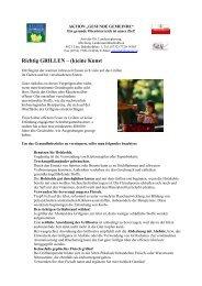 Richtig GRILLEN – (k)eine Kunst - Gesunde Gemeinde Riedau