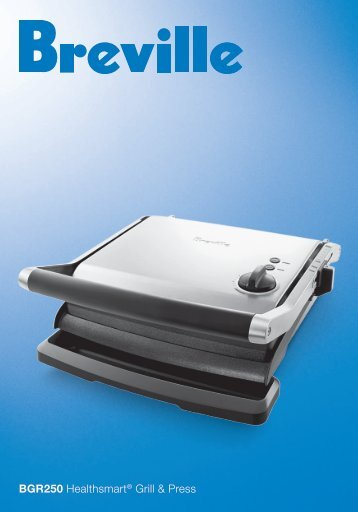 BGR250 Healthsmart® Grill & Press - Breville