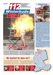 Sicher Grillen! - Freiwillige Feuerwehr Winterhude