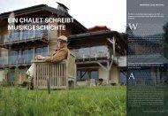 Ein Blick in die farbigste Backstagezone der Welt - Swiss