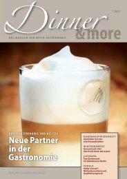 finden Sie die aktuelle Ausgabe 01.2013 der - Bayer Gastronomie ...