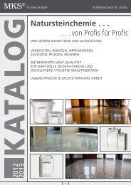 MKS® Natursteinchemie . . . . . . von Profis für Profis - MKS Funke ...