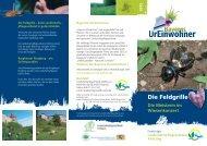 Die Feldgrille - Landschaftspflegeverband Altötting