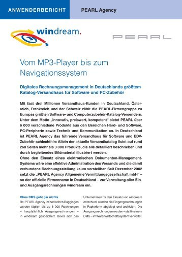 Managing Documents - Windream GmbH