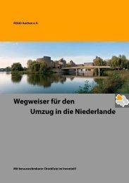 Wegweiser für den Umzug in die Niederlande - REGIO Aachen e.V.