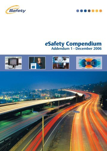 eSafety Compendium Addendum 1 - iCar Support