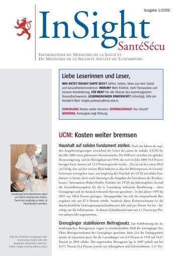Luxemburg 30.06.iv.qxd - Ministère de la sécurité sociale