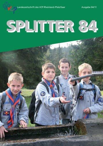 Splitter 4/2011 - VCP Land Rheinland-Pfalz/Saar