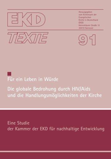 EKD Texte 91.qxd - Evangelische Kirche in Deutschland