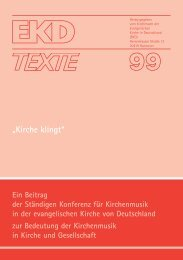 EKD Texte 99.qxd - Evangelische Kirche in Deutschland