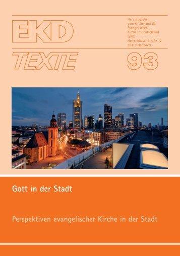 EKD Texte 93.qxd - Evangelische Kirche in Deutschland