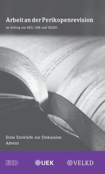 Arbeit an der Perikopenrevision - Evangelische Kirche in Deutschland