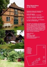 Altes Bauernhaus an der Ostsee - Karen Dierbach