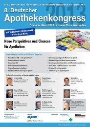 Apothekenkongress - Management Forum der Verlagsgruppe ...